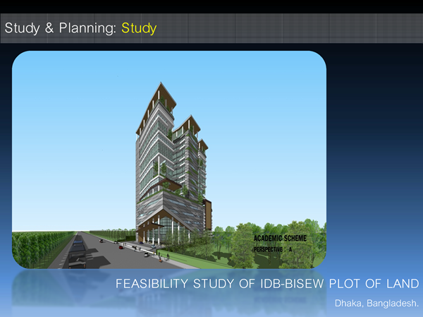 Feasibility Study of IDB-BISEW plot of land