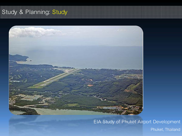 EIA Study of Phuket Airport Development